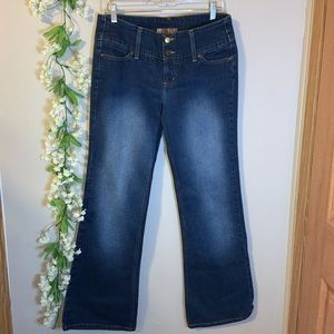 Vintage lei jeans white washed